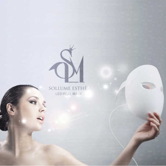 Sollume Esthe LED Home Treatment Mask