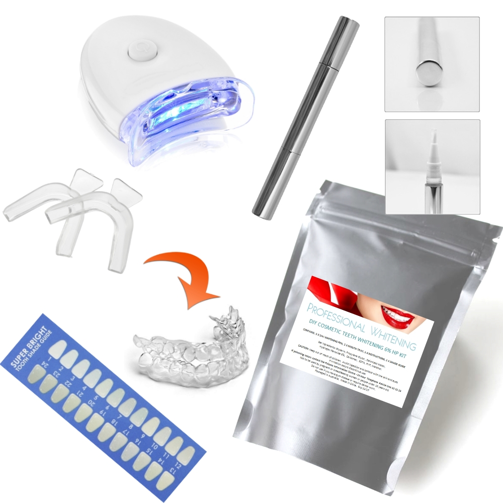 DIY Standard Teeth Whitening kits with LED - RRP $49.95
