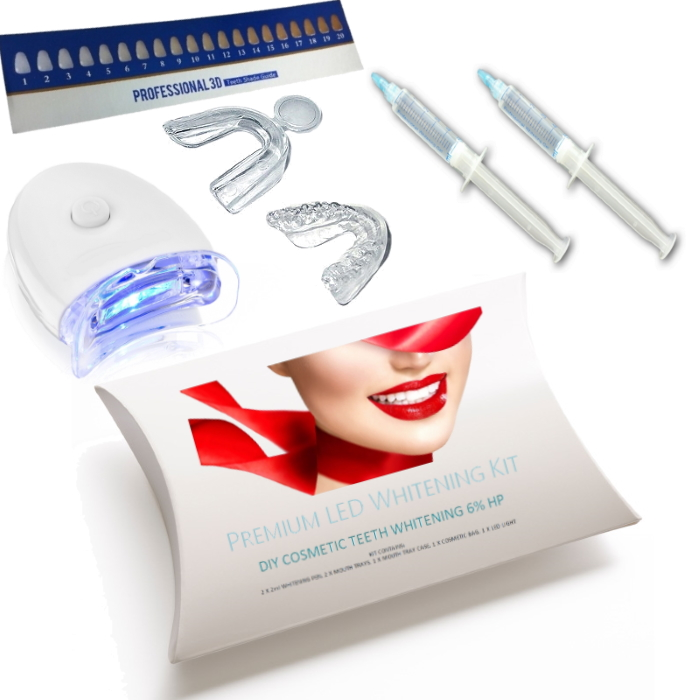 'DROPSHIP' Boxed Whitening kits 2 Syringe LED Trays - RRP $89.95