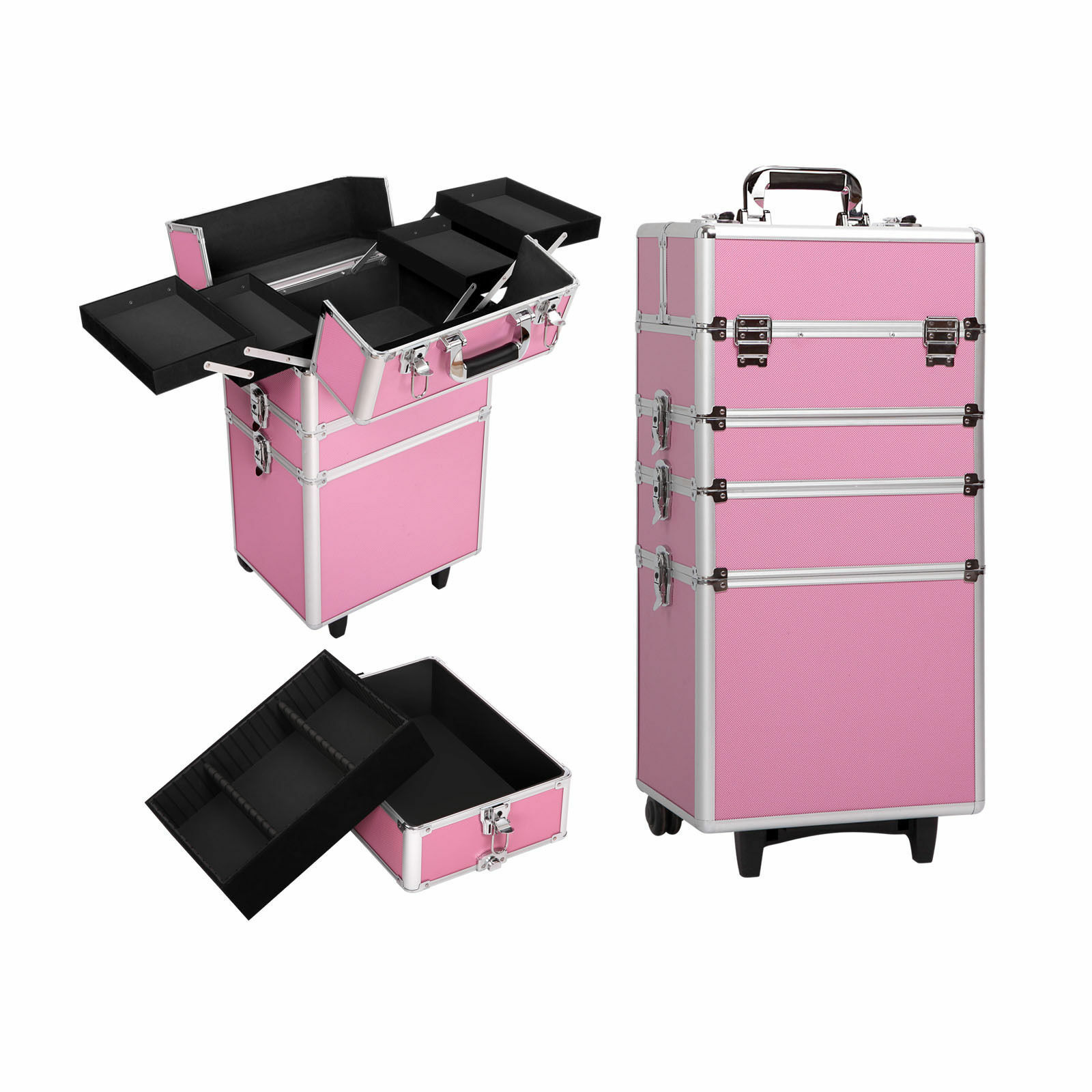 Travel Beauty Case - Pink