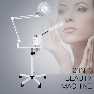 2 in 1 Magnifying Lamp Steamer