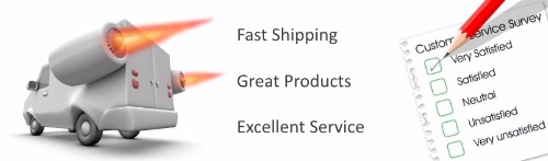 Fast Shipping - Excellent Customer Service
