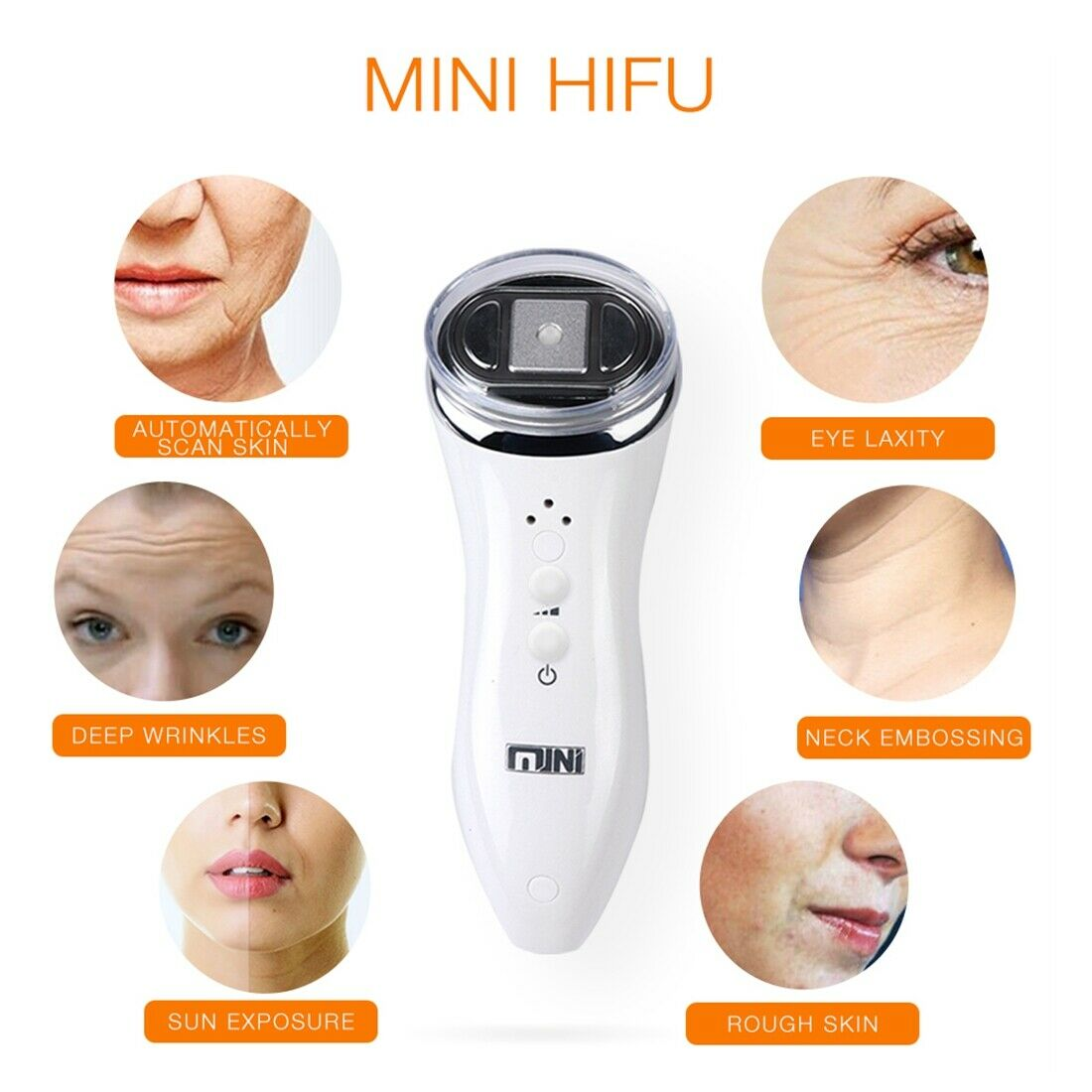 Home DIY Mini HIFU High Intensity Focused Ultrasound Anti-Aging