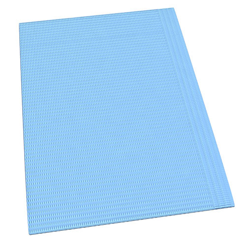 Disposable Bib without Tie or Head Rest Protector