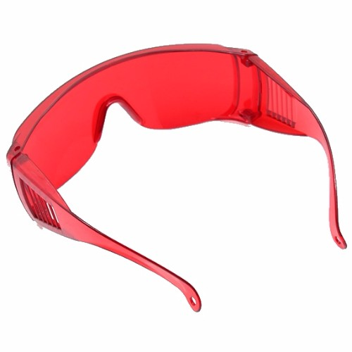 Teeth Whitening Protective Glasses Red Eyeware