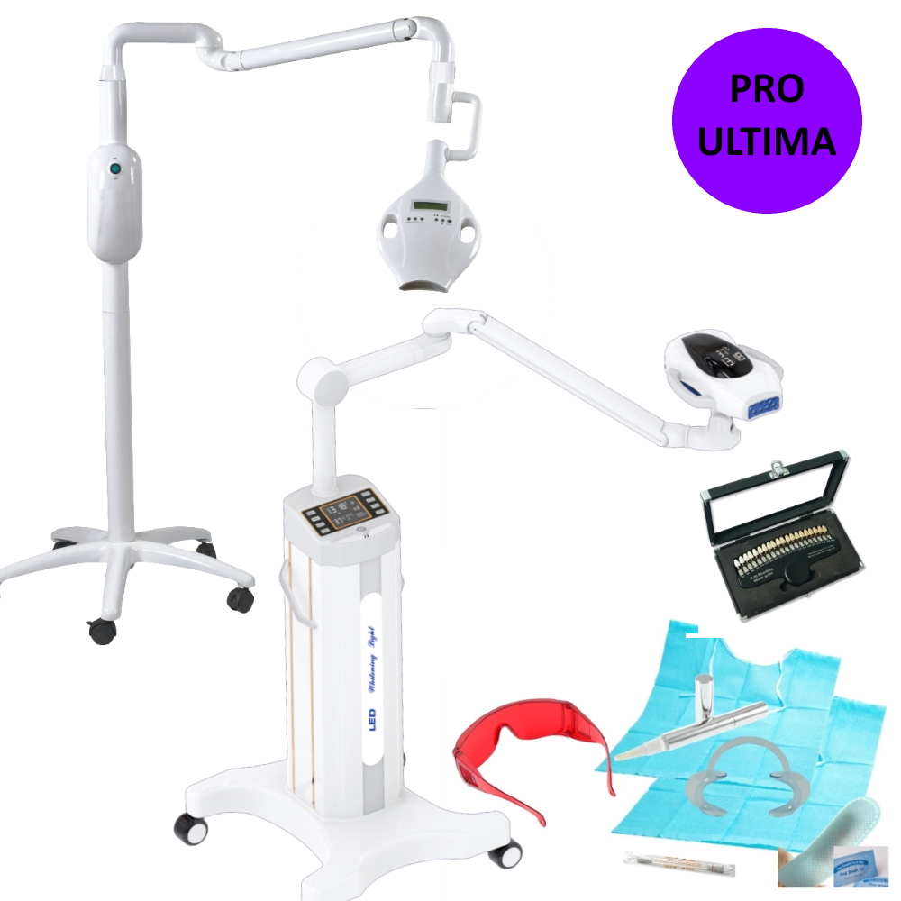 Teeth Whitening Starter Kit DUO Pro 9000 + ULTIMA 10K Lamps